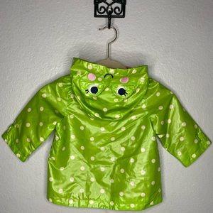 Cute Carter's Frog Raincoat—12M
